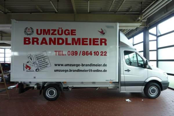 Umzüge Brandlmeier Transporter